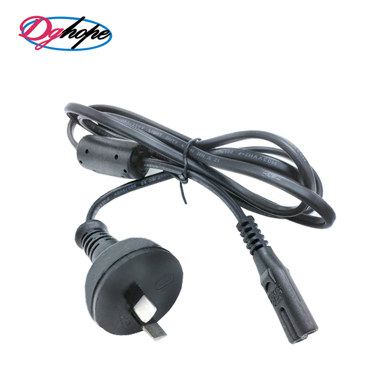 Wholesale 2-Pin C5 AU Plug Power-cable for Australian Power Cord with SAA Certificates