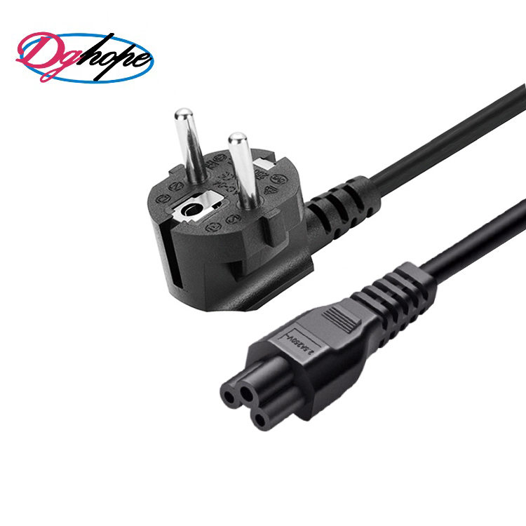 European C5 plug eu power cable with VDE Approval